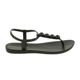 Sort Ipanema sandaler kvinders sko flip-flops med bolde 82517