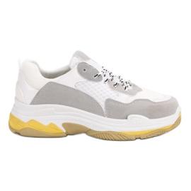 Small Swan Hvide Sneakers På Platform