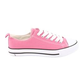 American Club Sneakers bundet pink amerikanske kvinders sko