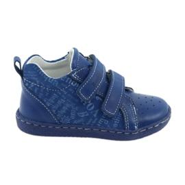 Ren But blå Børns medicinske sko med velcro Ren Men 1429