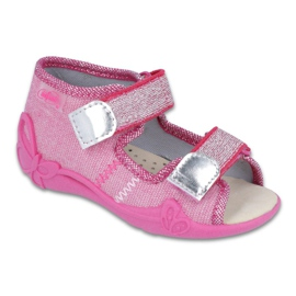 Pink Befado gul børnesko 342P001