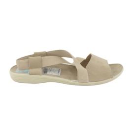 Sandaler til kvinder Adanex 17495 beige brun