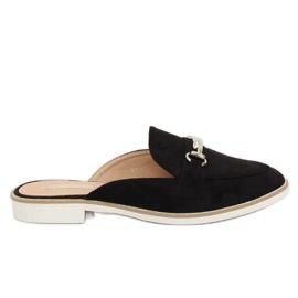 Sort Black loafers F9375 Black