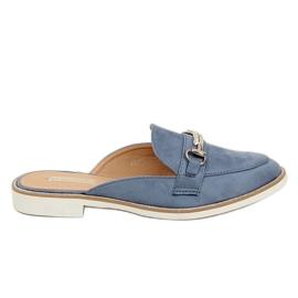 Blå Flip Flops Blue F9375 Blue