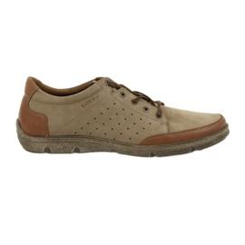 Herresko Badura 3524 beige / brun