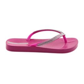 Flip flops sølvkæder Ipanema 82528 pink
