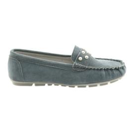 Filippo grå kvinders moccasiner sko