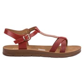 Filippo Klassiske Røde Sandaler