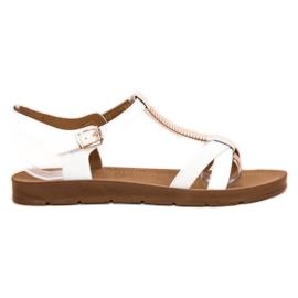 Filippo Klassiske hvide sandaler