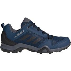 Blå Trekking sko adidas Terrex AX3 M BC0527