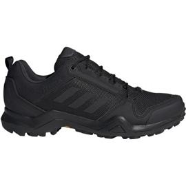 Sort Trekking sko adidas Terrex AX3 Gtx M BC0516