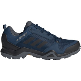 Blå Trekking sko adidas Terrex AX3 Gtx M BC0521