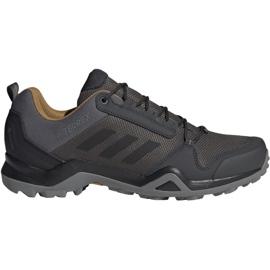 Grå Trekking sko adidas Terrex AX3 Gtx M BC0517