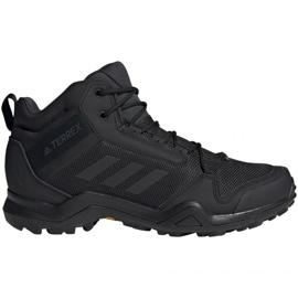 Sort Trekking sko adidas Terrex AX3 Mid Gtx Vz M BC0466