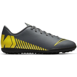 Nike Mercurial Damp X 12 Club Tf Jr AH7355-070 Fodboldsko grå