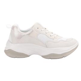 Kylie Trendy Hvide Sneakers