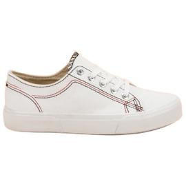 Kylie Hvide sneakers