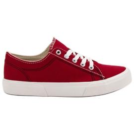 Kylie Røde sneakers