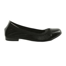 Ballerinki kvinders viskelæder Gamis 1402 sort