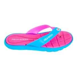 Tøfler Aqua-Speed Bali pink-blue 03 479