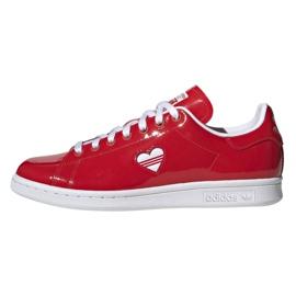 Adidas Originals Stan Smith sko i G28136 rød