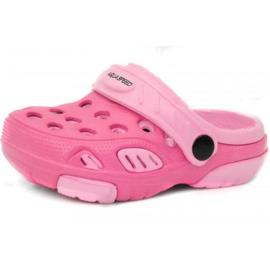 Pink Tøfler Aqua-speed Lido col 03