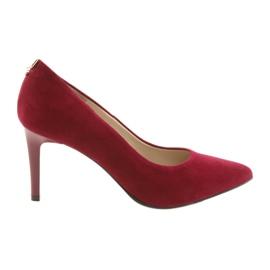 Røde kvinders sko SALA 7064