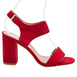 Røde VINCEZA Sandaler
