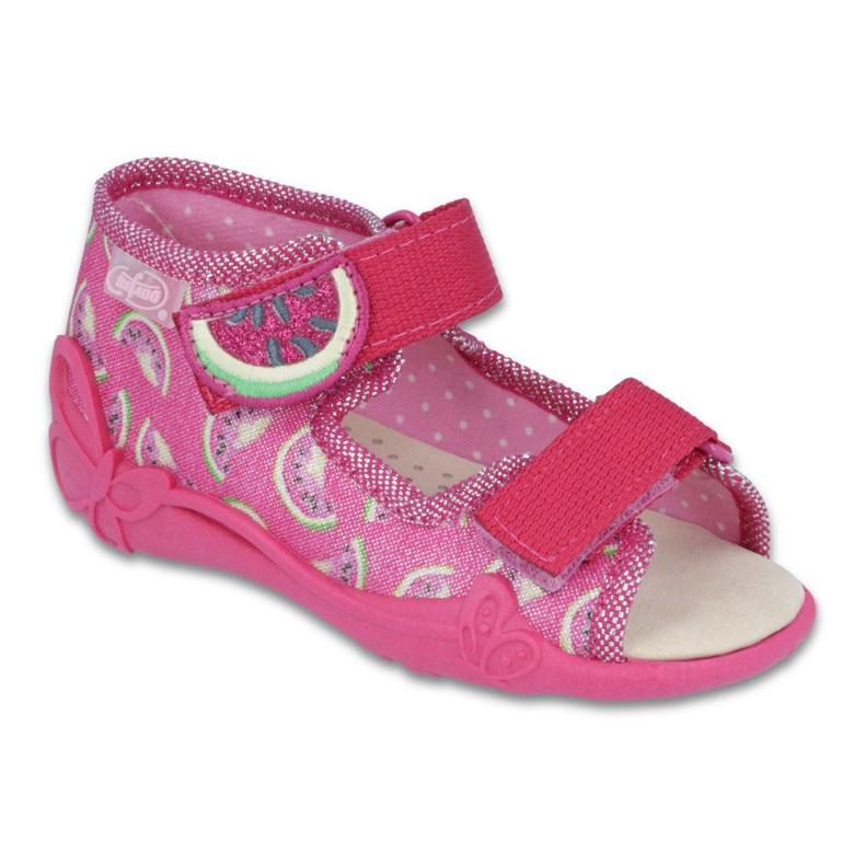 Pink Befado gul børnesko 342P004