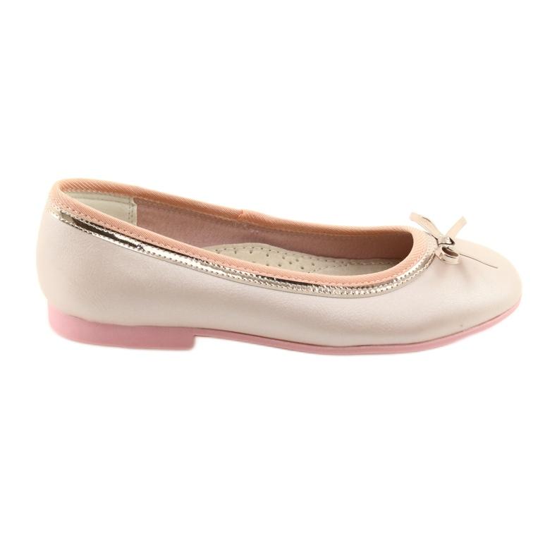 Ballerinas med en buerosa perle American Club GC14 / 19