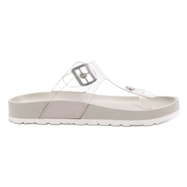 Seastar grå Gennemsigtig Flip Flops
