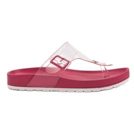 Seastar pink Gennemsigtig Flip Flops