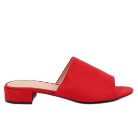 Kvinders røde tøfler XW9093 Red