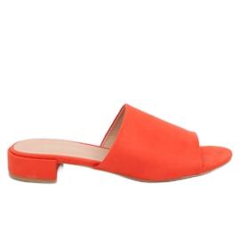 Appelsin Kvinders oransje tøfler XW9093 Orange