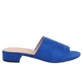 Kvinder blå tøfler XW9093 Blue