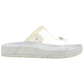 Seastar Gennemsigtig Flip Flops hvid