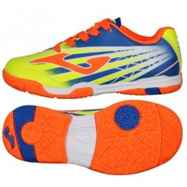 Indendørs sko Joma Super Copa Jr I SCJS.911. + Gratis fodbold flerfarvede flerfarvede
