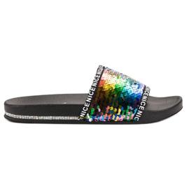 Seastar Sequins Flip Flops flerfarvede