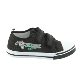 Velcro sneakers Motocross Atletico 1809 sort