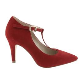 Damesko rød Caprice 24400