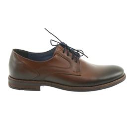 Mænds brune sko til mænd Nikopol 1712