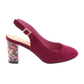Sandaler på posten Sergio Leone 788 pink