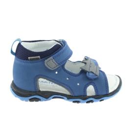Sandaler drenge rober Bartek 51489 blå