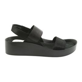 Filippo 767 profilerede sorte sandaler