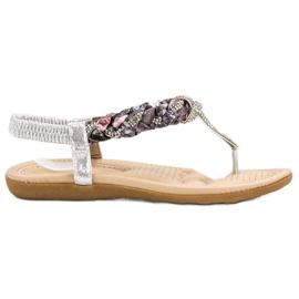 Cm Paris grå Moderigtige japanske sandaler