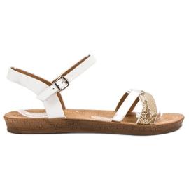 Seastar Moderigtige Flad Sandaler hvid