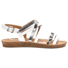 Seastar Moderigtige hvide sandaler