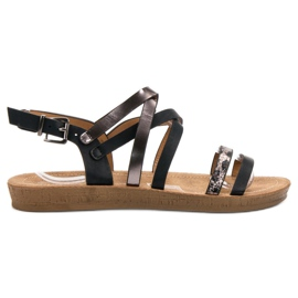 Seastar sort Moderigtige Black Sandals