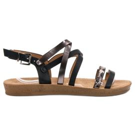 Seastar sort Moderigtige Black Sandals