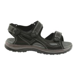 Velcro sandaler lys EVA DK sort